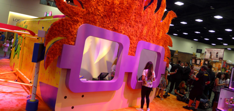 Nickelodeon Trade Show Booth